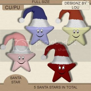 ** FREEBIE CU SANTA STAR ** by Lou Dbl_ss_preview-3