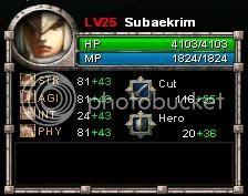 [Bentilus Guide] 3 Active Lvl25statsitems