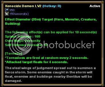 [Bentilus Guide] 3 Active Xenocidedemon