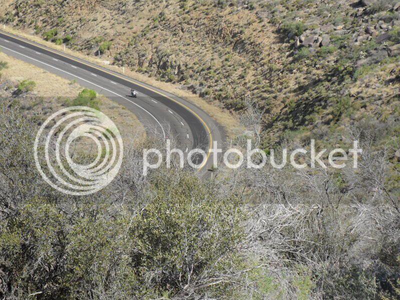 Short ride to Yarnell, AZ to beat the heat! Bike