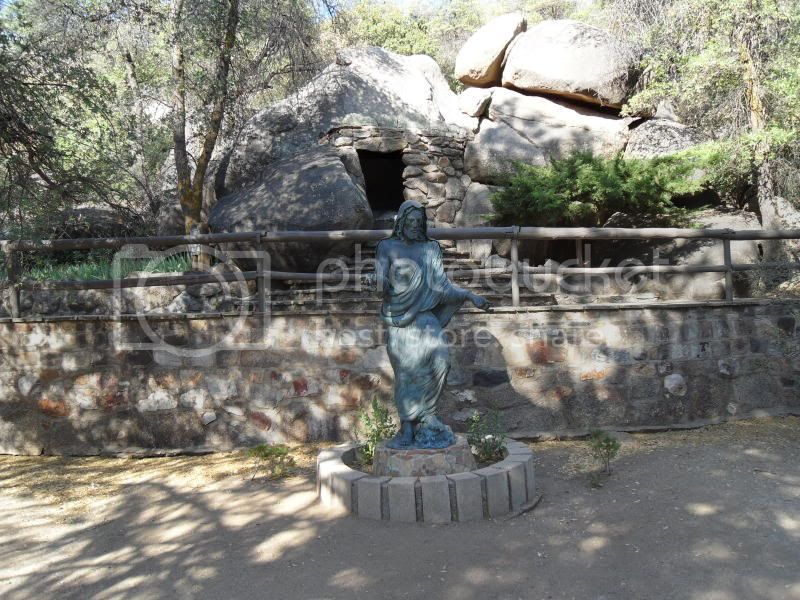 Short ride to Yarnell, AZ to beat the heat! Shrine1