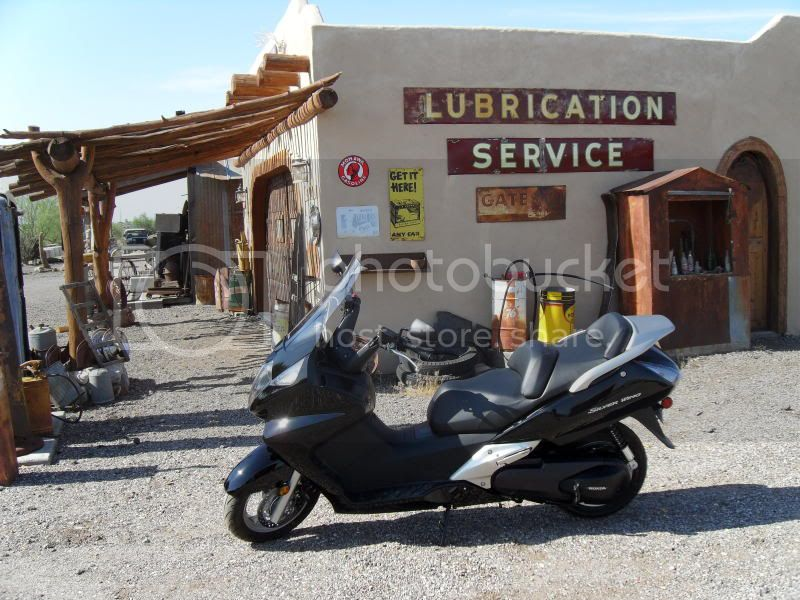 Short ride to Yarnell, AZ to beat the heat! Station1