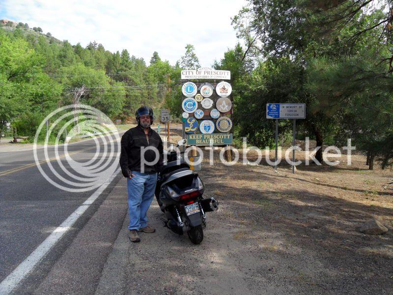 Short pre-ride to Prescott, AZ Ghm