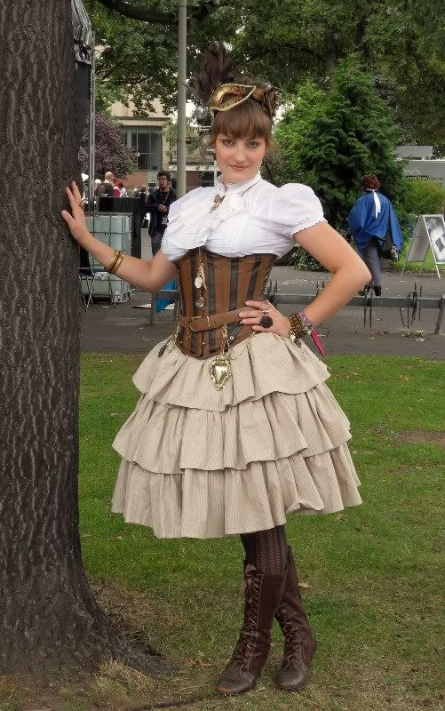 Steampunk Lolita AnimagicSonntag016