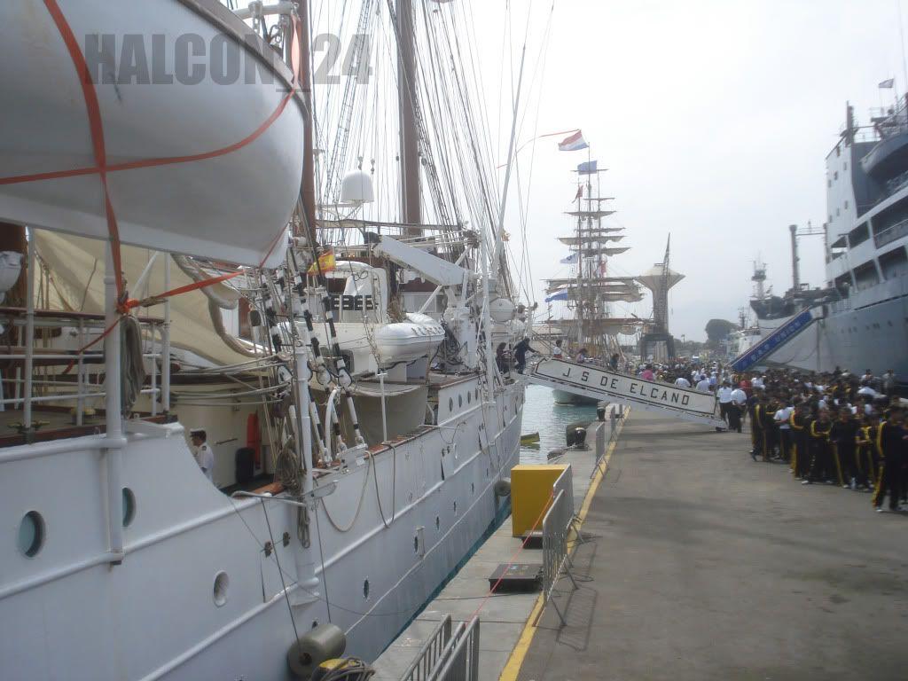 """Regata Bicentenario """"Velas Sudamérica 2010"""": Elcano7"""