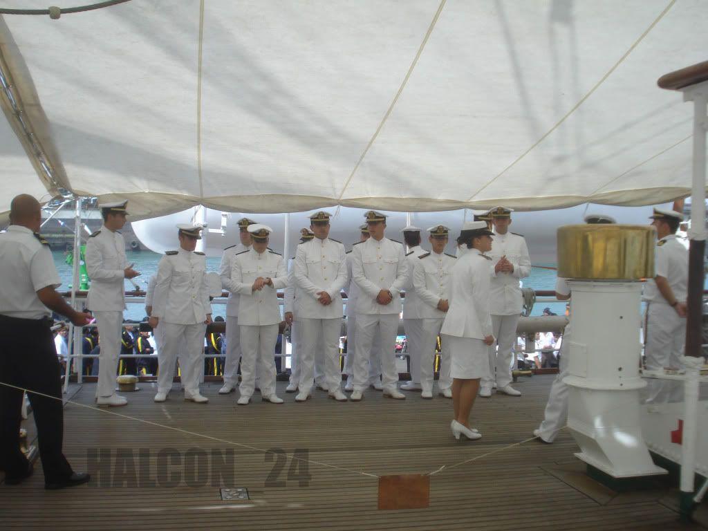 """Regata Bicentenario """"Velas Sudamérica 2010"""": Elcano-cadetes"""