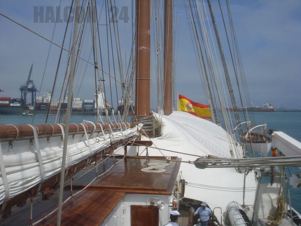 """Regata Bicentenario """"Velas Sudamérica 2010"""": Elcano-cubiertapopa"""