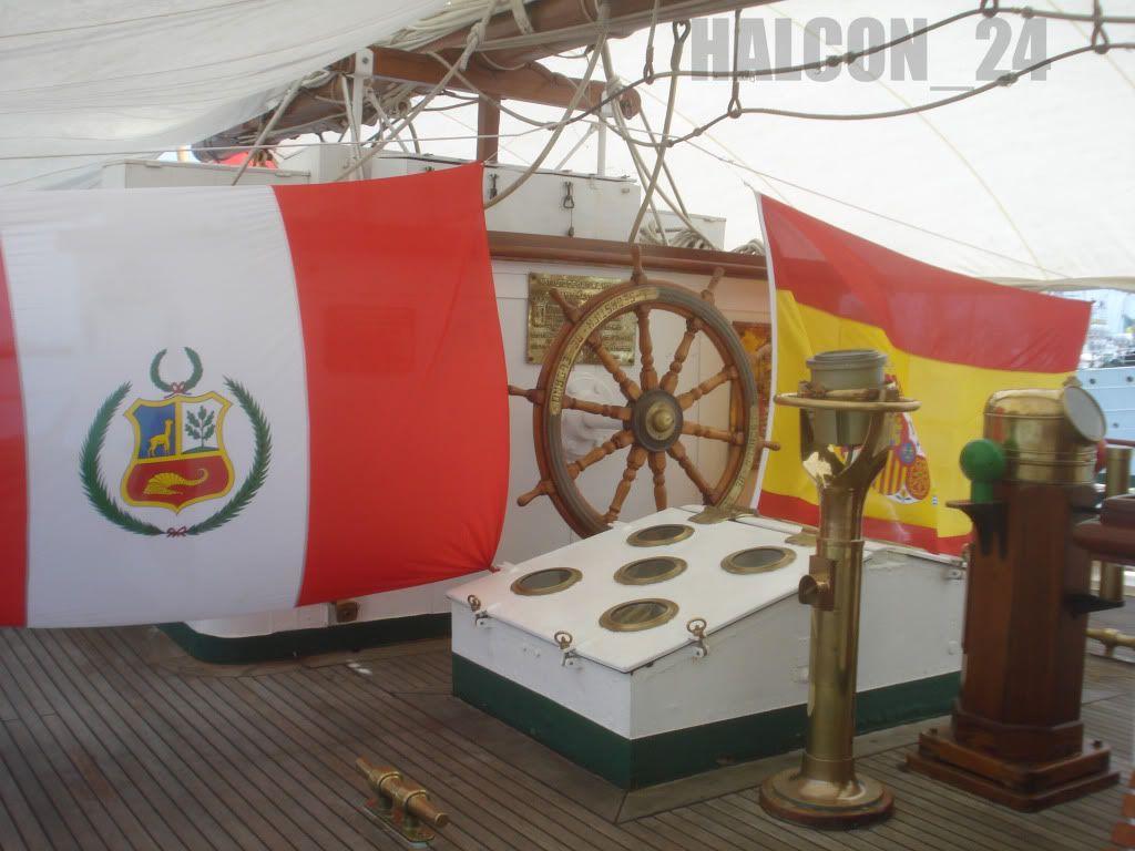 "Regata Bicentenario ""Velas Sudamérica 2010"": Elcano-timonpopa1"