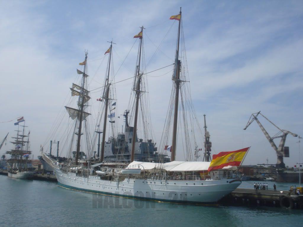 """Regata Bicentenario """"Velas Sudamérica 2010"""": Elcano3"""