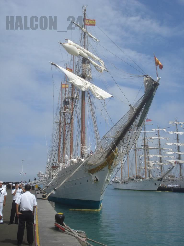 """Regata Bicentenario """"Velas Sudamérica 2010"""": Elcano5"""
