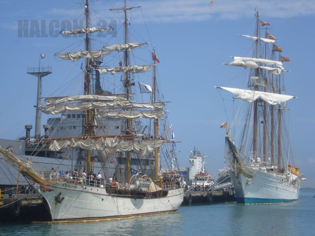 "Regata Bicentenario ""Velas Sudamérica 2010"": Europa-Elcano1"