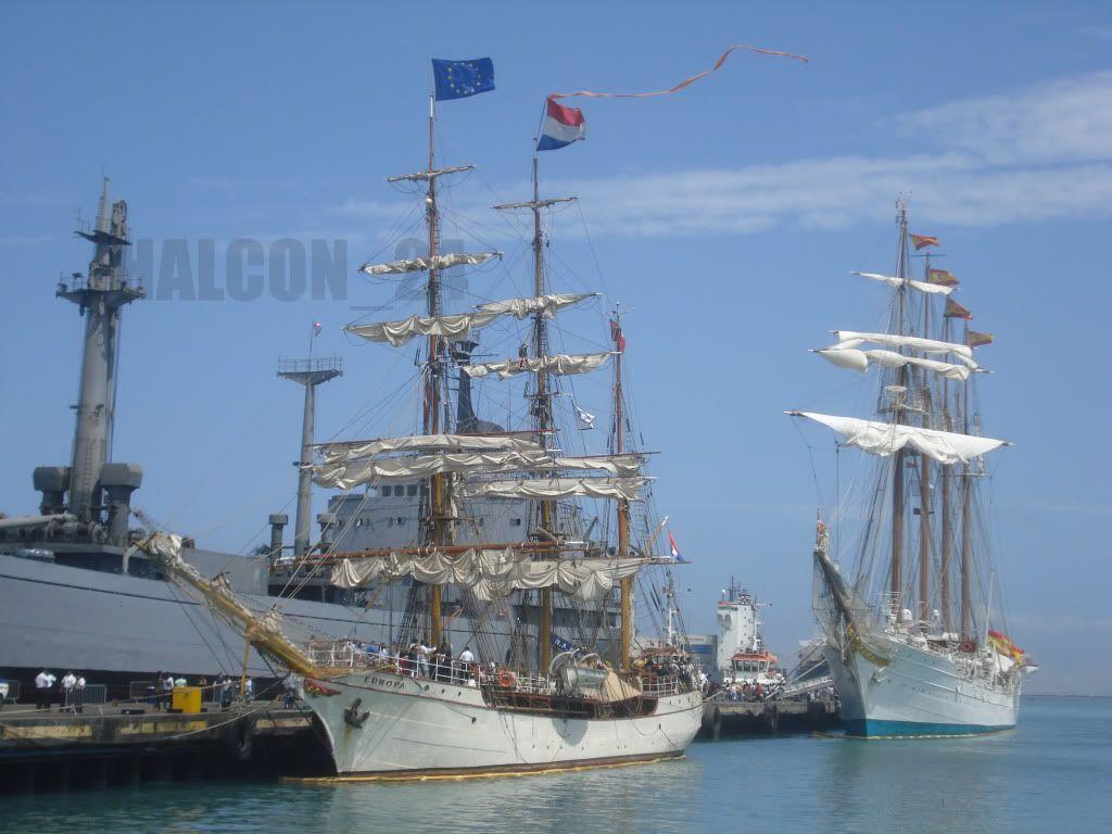 "Regata Bicentenario ""Velas Sudamérica 2010"": Europa-Elcano2"