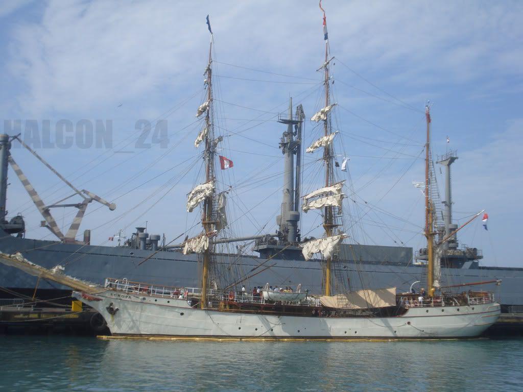 """Regata Bicentenario """"Velas Sudamérica 2010"""": Europa1"""