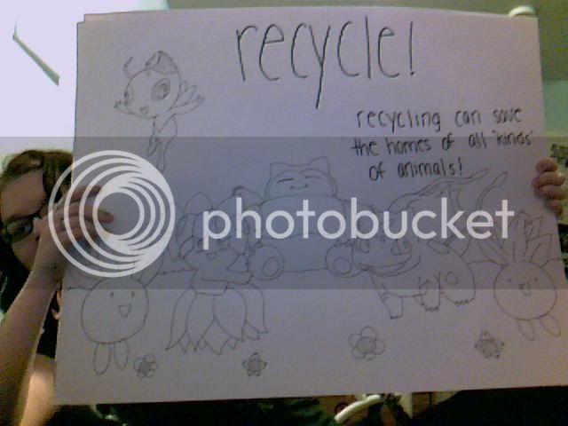 Persuasive Speech. D: Recyclepokemon