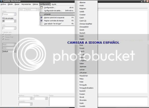 Tutorial para sincronizar subtitulos con el Subtitle Workshop. 1sw-1
