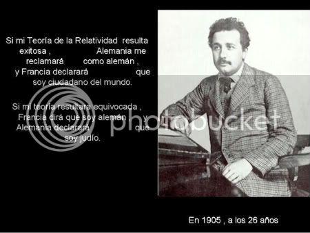 Frases celebres de un genio - Albert Einstein. Homenaje 34yv13o