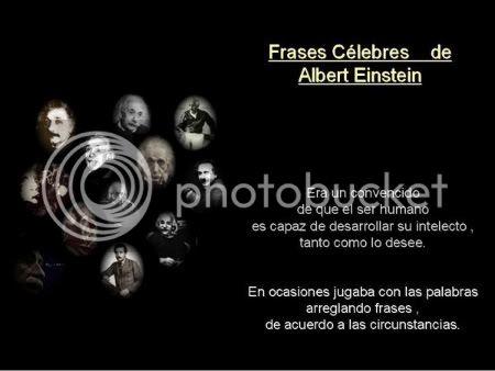 Frases celebres de un genio - Albert Einstein. Homenaje 35itwrc