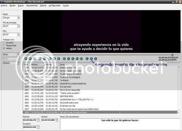 Tutorial para sincronizar subtitulos con el Subtitle Workshop. 5sw