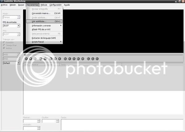 Tutorial para sincronizar subtitulos con el Subtitle Workshop. 9sw