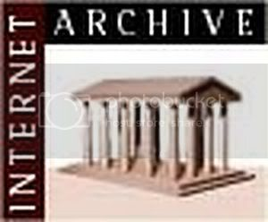 www.archive.org es EL archivo de la Internet. Logo