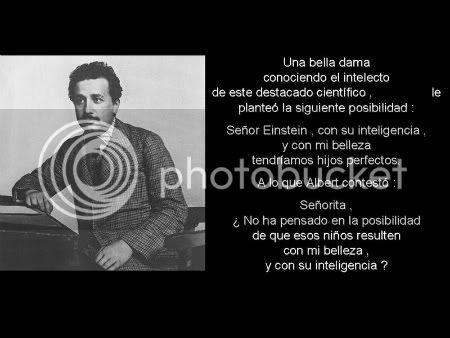 Frases celebres de un genio - Albert Einstein. Homenaje V2s1m0