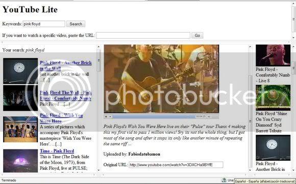 YouTube Lite (muy útil - nuevo 21mar09) Yt