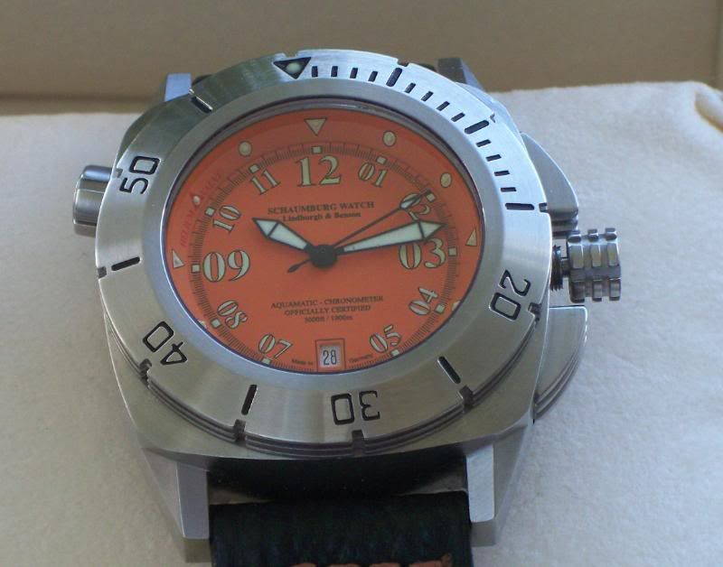 Schaumberg Watch Lindburgh and Benson COSC Aquamatic 007JPGclose