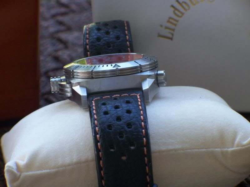 Schaumberg Watch Lindburgh and Benson COSC Aquamatic 012