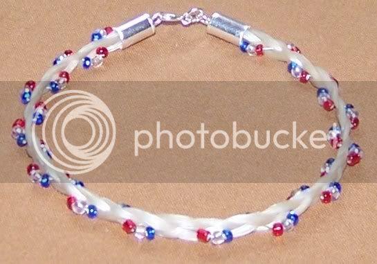 Horsehair jewelry! 007-3
