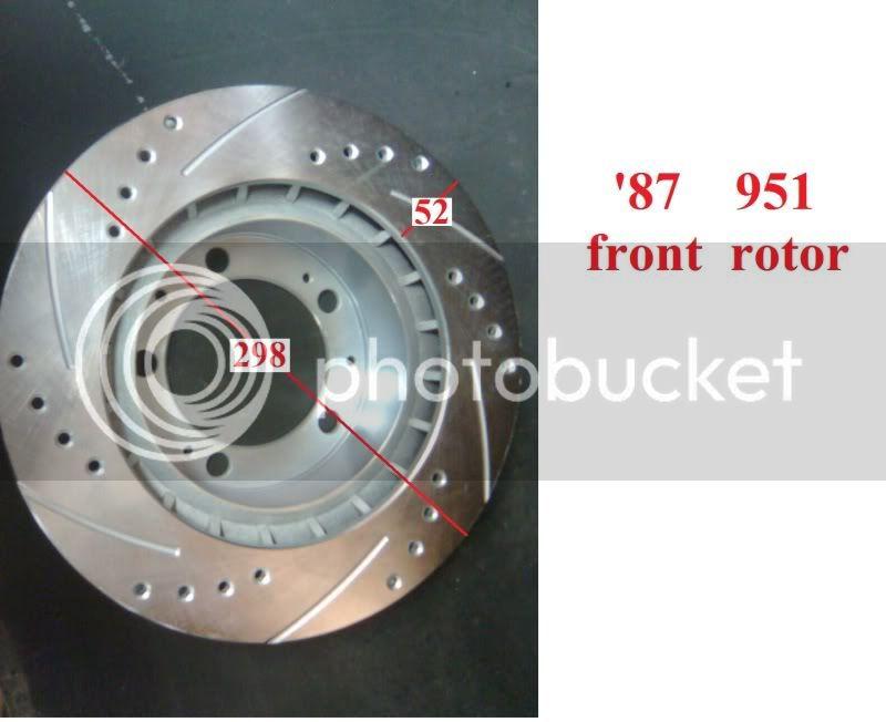 951 Brakes on an NA  87951frontrotordia