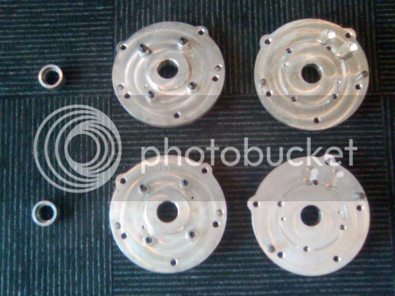 C5 Bellhousing Adapter Plates and Pilot Bearing Adapter Combo