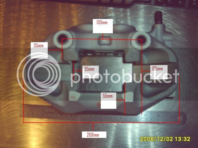 LS430 Big Brake Swap LS430CalpDimensions