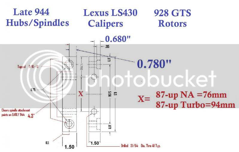 LS430 Big Brake Swap - Page 10 Late944-LexusCalipers-928GTSrotors-1_zps88a47b02