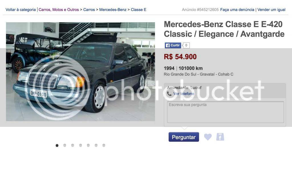 (VENDIDO) W124 E420 1994 - R$ 54.900,00 Image_zpsc0f9cc41