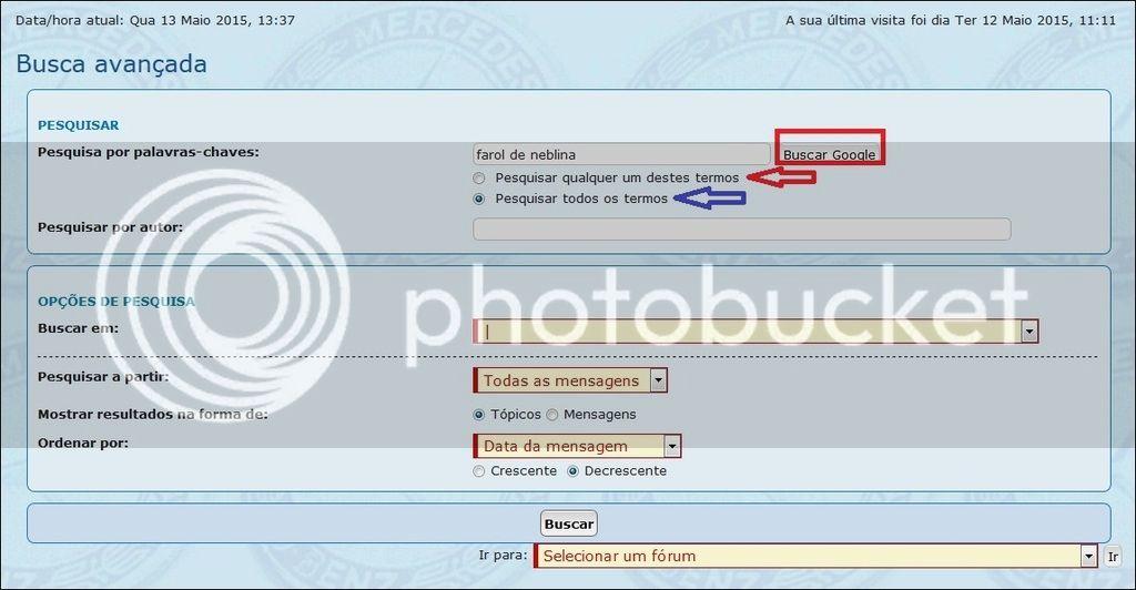 """Como utilizar o sistema de pesquisa """"BUSCA"""" do Fórum/Portal Tela%20c_zps5yeiq3qd"""