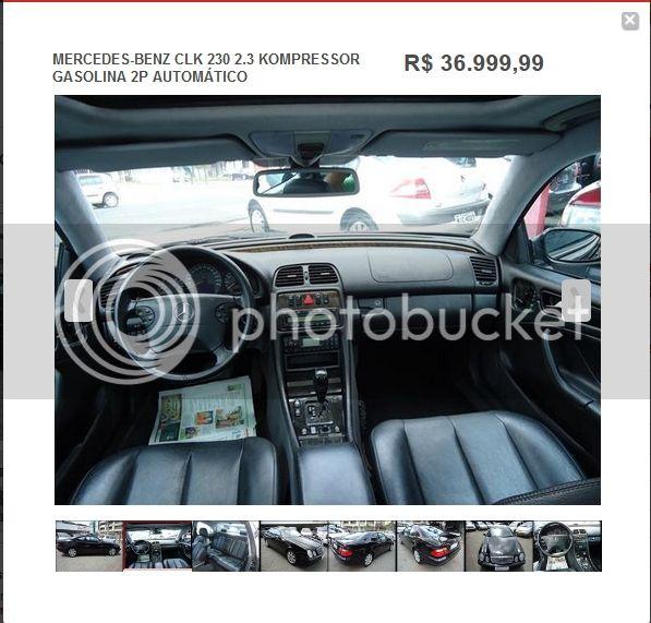(VENDIDO) Oferta interessante - CLK 230K 2001 Tela4_zps39f81244