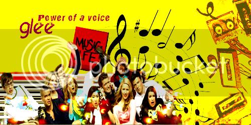 Chall nº14 - Banner- Glee GleeBanner