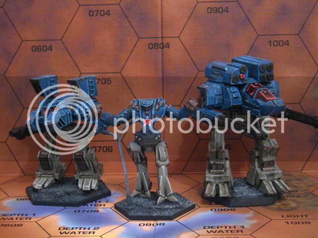 Minaturas de CAV para Battletech ReaperCAV001