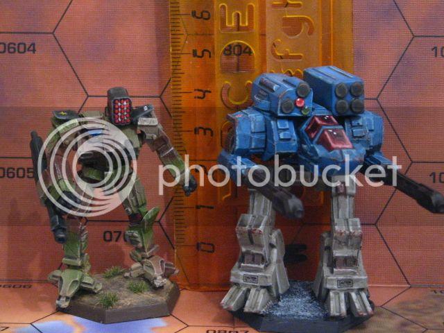 Minaturas de CAV para Battletech ReaperCAV008