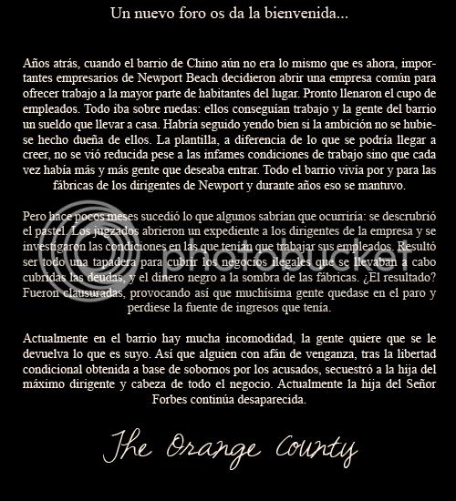 The Orange County 1