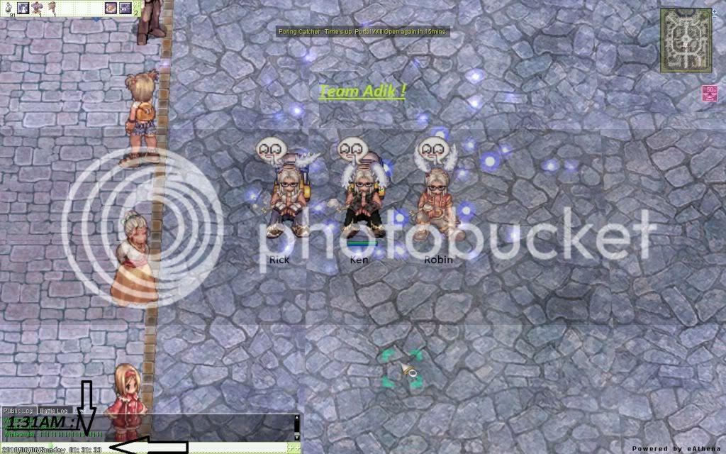 Team Adik :] ScreenShowtimeRO001