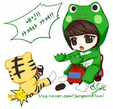 SHINee Fanart II 2jungmin87mal