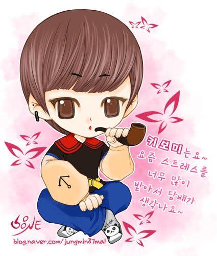 SHINee Fanart II Jungmin87mal-1