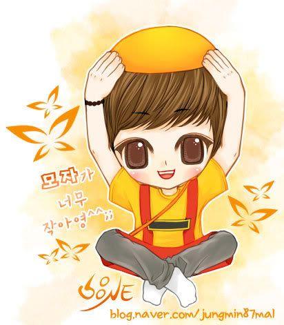 SHINee Fanart II Jungmin87mal002-1