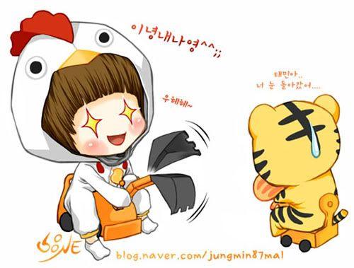 SHINee Fanart II Jungmin87mal002-2