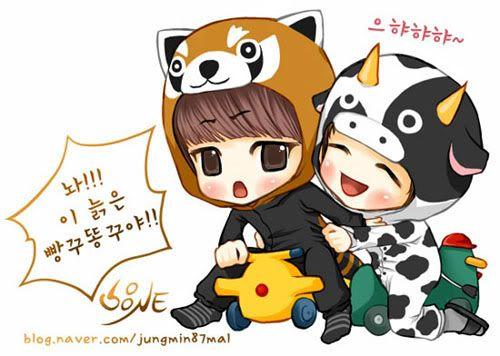 SHINee Fanart II Jungmin87mal002