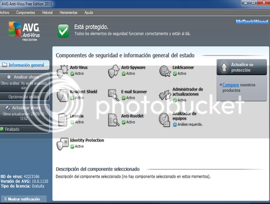 AVG Anti-Virus Free 2011 10.0.0.1204 1 Link AVGScreen