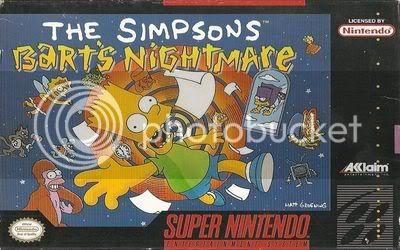 Los Mejores 100 juegos de Super Nintendo en Portables PC BartNightamareFrontSnes-2