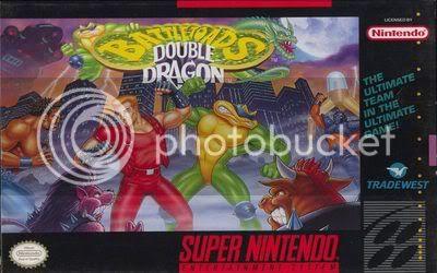 Los Mejores 100 juegos de Super Nintendo en Portables PC BattletoadsDoubleDragonUSOctober1993front