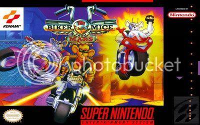 Los Mejores 100 juegos de Super Nintendo en Portables PC BikerMiceFromMarsUSDecember1994_front